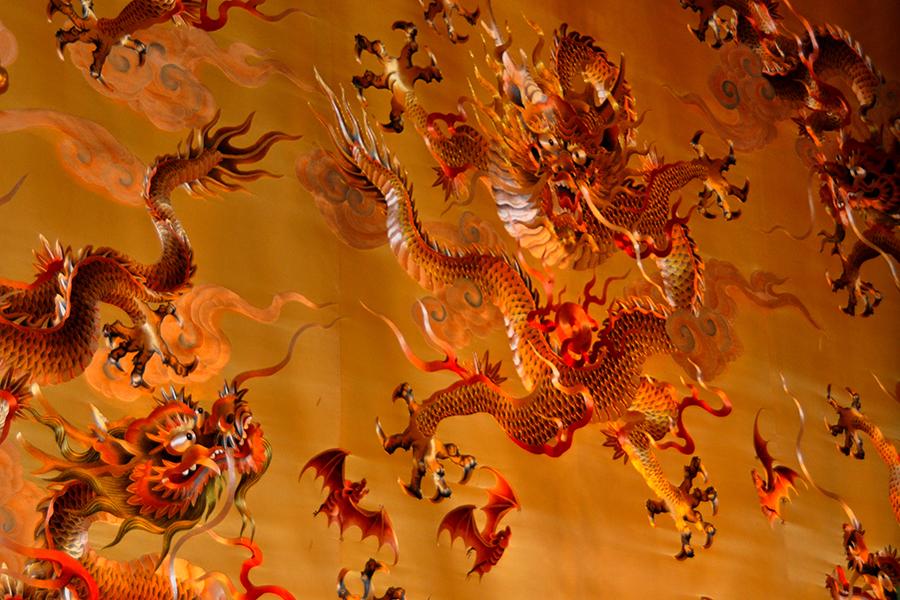 Singapore - Dragon Silk