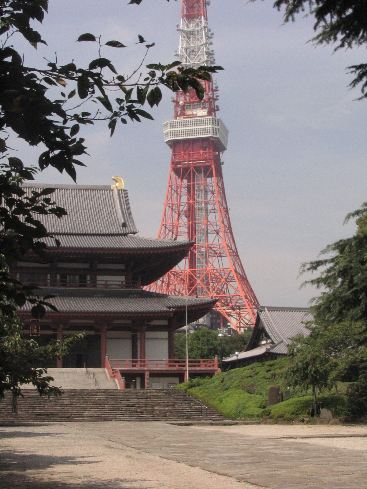 Z?j?-ji Temple and Tokyo Tower